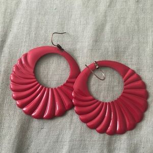 Retro party earrings